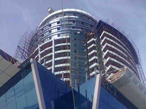 نمای هتل 5ستاره برج عظیم زاده