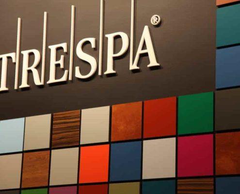 انواع رنگ ورق HPL برند TRESPA